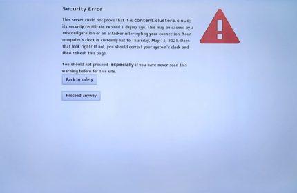 Televizyon Security Error Hatası ve Çözümü